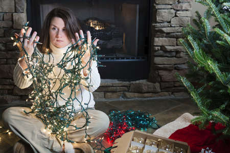 Holiday woes Imagens - 16513267