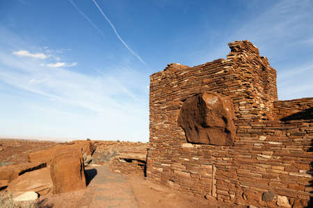 Indian ruins Stok Fotoğraf