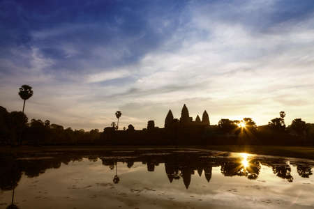 Sunrise at Angkor Wat, Cambodia photo