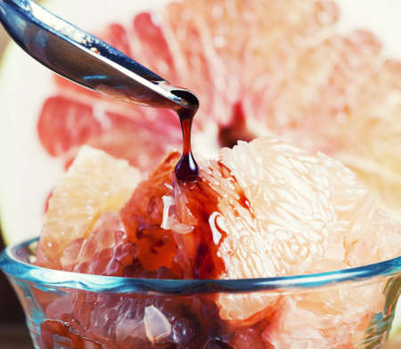 Grapefruit dessert Imagens