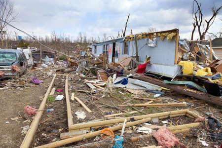 the aftermath: Tornado aftermath Editorial