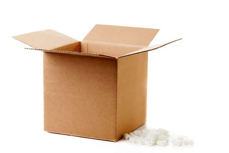 Shipping box Stock Photo - 17729115