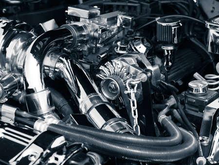 engine compartment: Engine compartment