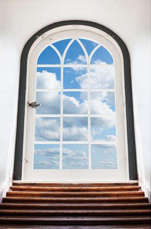 Door to the sky photo
