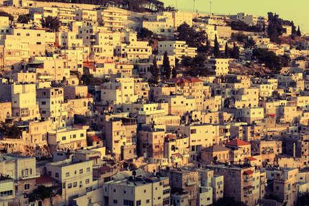 housing problems: Silwan Village in Jerusalem, Israel