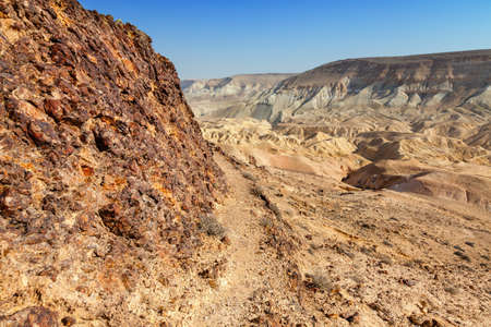canyon negev: Canyon in Negev Desert in Israel