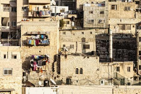 housing problems: Arab Village in Jerusalem, Israel