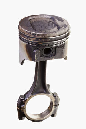 Used engine piston photo