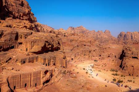 Morning in Petra, Jordan photo