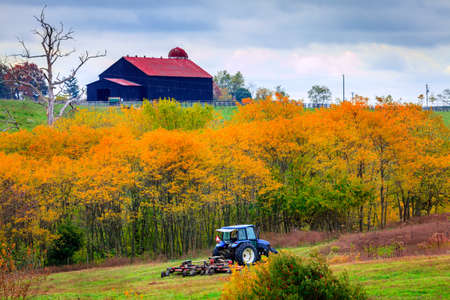 farm implement: Farm work