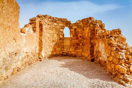 ancient israel: Masada fortress in Israel