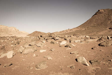 timna: Desert landscape