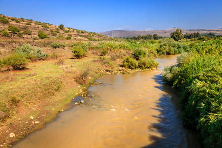 Jordan 川 写真素材