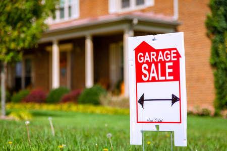 Garage sale teken
