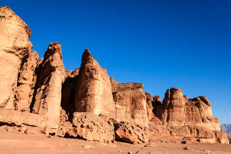 arava: Solomon Pillars in Timna National Park in Israel