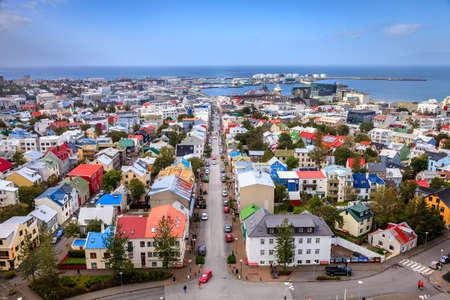 Reykjavik, Iceland Archivio Fotografico