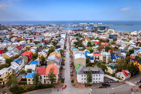 Reykjavik, Islandia Foto de archivo - 29290150