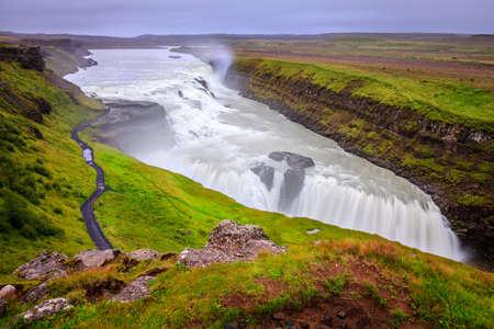Gullfoss -  waterfall in Iceland