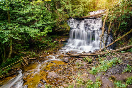 There Are Ly 200 Named Waterfalls Tered Across The U P And One Located In Lower Peninsula I Ve Created A Of 5 Most Epic Michigan
