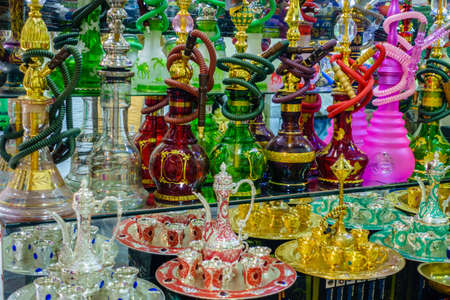 Hookah store at the Old Souk in Dubai