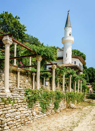Balchik Palace in the Black Sea resort town of Balchik, Bulgaria