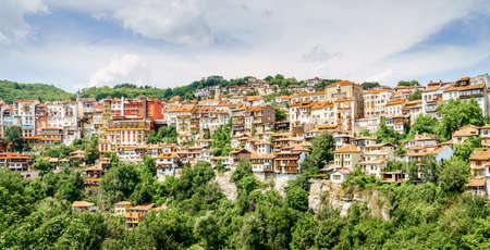 Residential area in the city of Veliko Tarnovo, Bulgaria