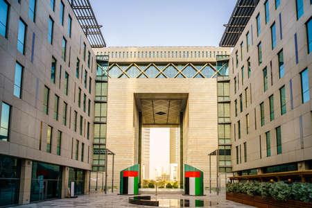 The Gate Building in Dubai International Financial Center