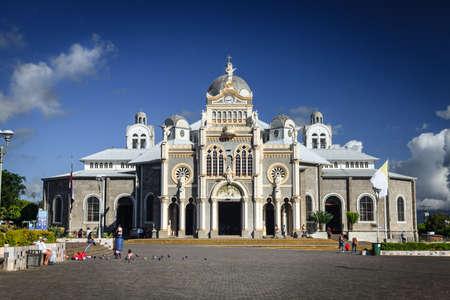Cartago, Costa Rica - November 22, 2014: Basilica Nuestra Senora de Los Angeles in Cartago, Costa Rica is the most popular pilgrimage site in the country Sajtókép