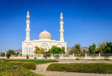 Sultan Qaboos Mosque in Rustaq, Oman Stok Fotoğraf