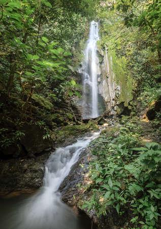 La catarata de la llorona waterfall in Corcovado National Park in Costa Rica