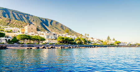 Santa Marina of Salina - a main town and port on Salina island, Italy