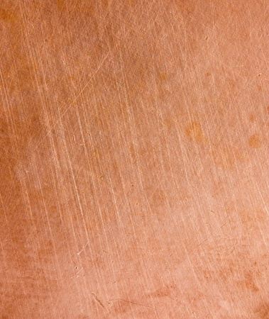 scratched metal: Copper scratched background