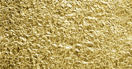 Golden foil background photo