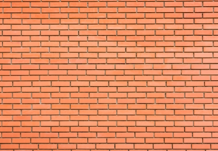 Red brick wall background Stock Photo - 13634378