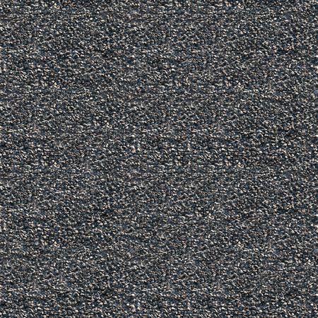 macadam: Macadam with asphalt under sunlight black seamless textured background