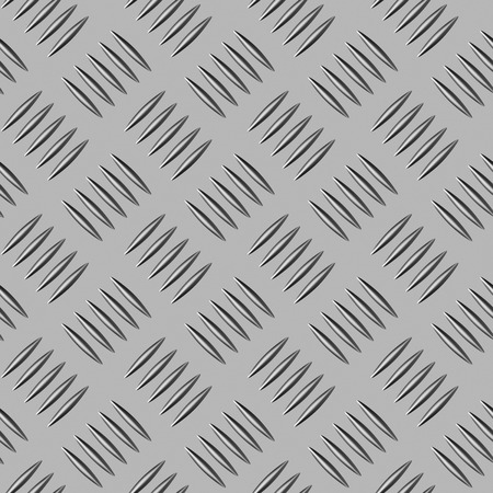 Abstract industrial construction steel floor and metal flooring industrial illustration: industrial steel flooring seamless texture background illustration