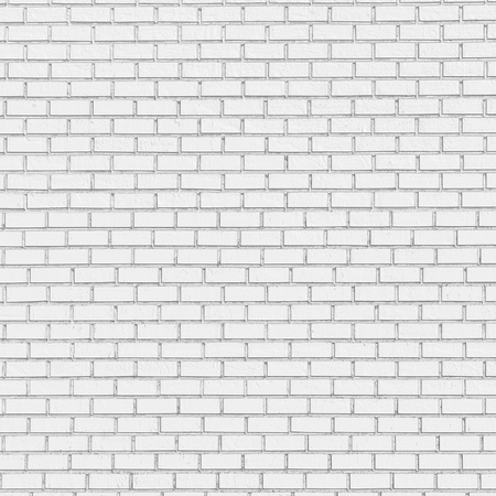 cement texture: White brick wall texture background - bright colorless abstract white background for various design artworks, business cards, banners and graphic, 3d illustration Stock Photo