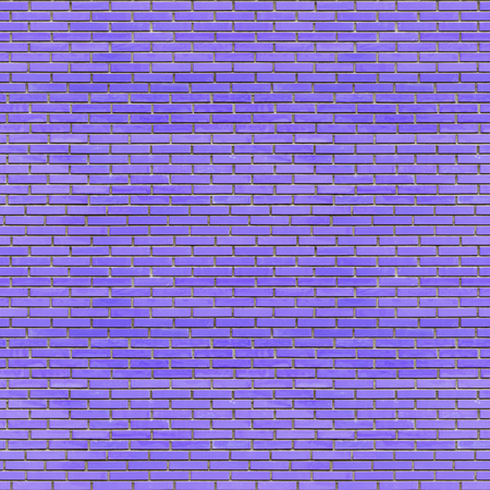 Blue bricks wall seamless texture - abstract industrial seamless background of old blue aged grunge brick wall for various design artworks, banners and graphic, 3d illustration Stock Photo
