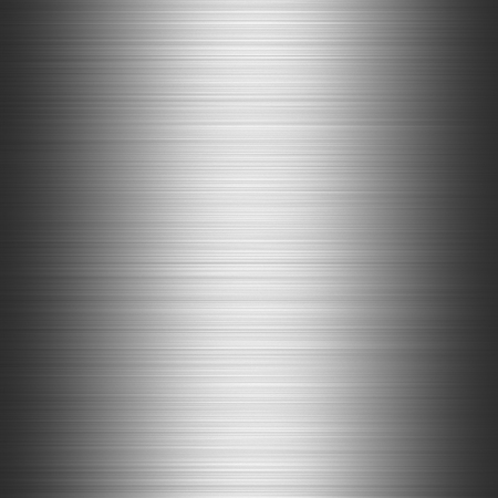Polished metal shiny dark gray industrial seamless background with scratches, 3D illustration