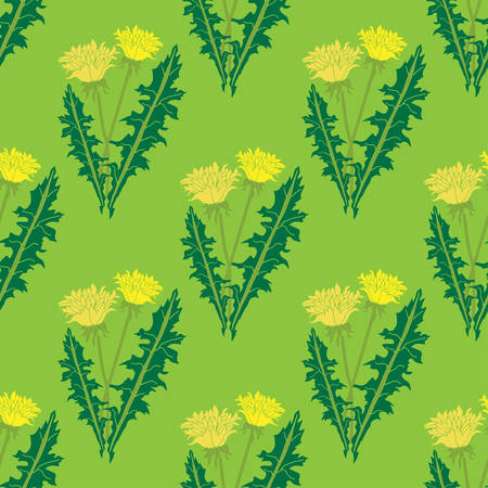 Simple and beauty botanical abstract seamless pattern background. Floral vector illustration will perfect for textile and paper wrapping print. Can be copied without any seams.