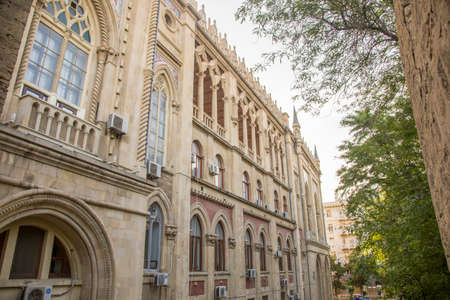 Icheri Sheher is Bakus Old Town, the original city Banco de Imagens