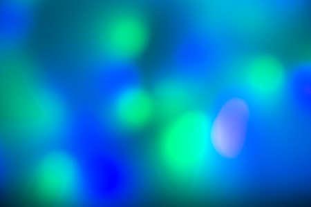 Multi-colored lights garlands, bokeh.