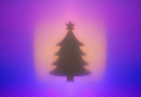 Multi-colored lights garlands, festive