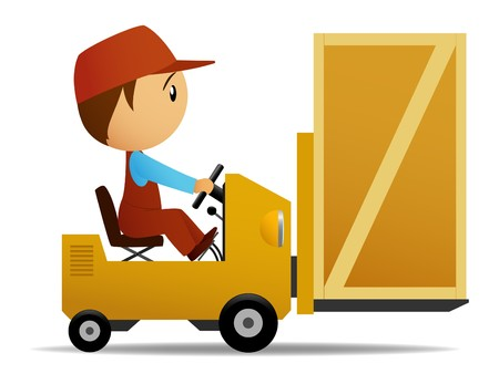 carrying box: Cargador con cuadro