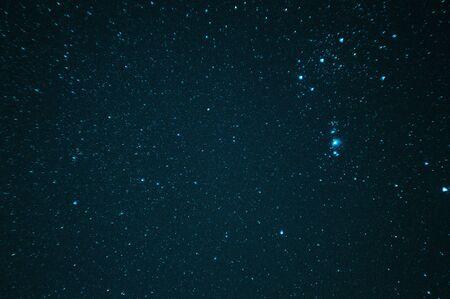 stars at night view background.