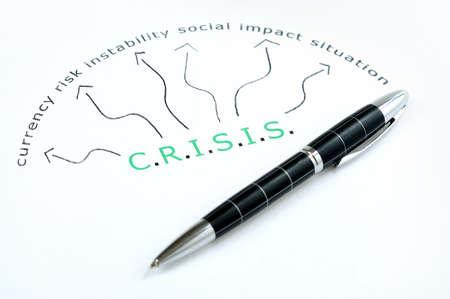 Crisis word scheme and pen photo
