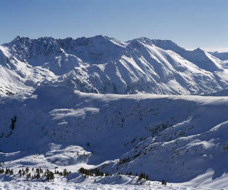 mountainous: Pirin mountain, mountainous ridge named Strajite, Bulgaria, Balkans Stock Photo