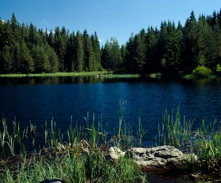 travelled: Shiroka polyana lake, Rodopi, Bulgaria, Balkans