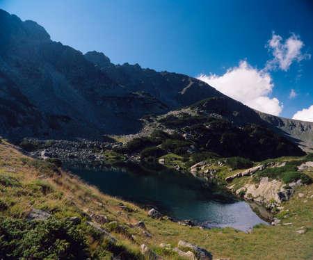 balkans: Pirin mountain, Kuklensko lake, Bulgaria, Balkans