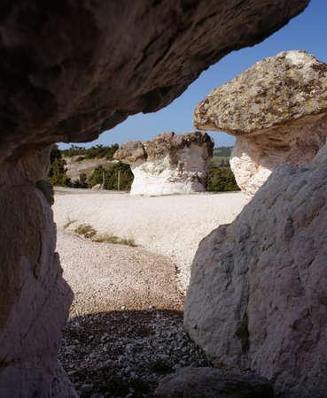 travelled: Stony phenomenon near Kurdjali, Bulgaria, Balkans, South Rhodopi, European, Europe, EU